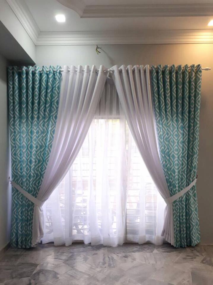 Unique Ways To Decorate Living Room: 9 UNIQUE WAYS TO HANG YOUR CURTAINS